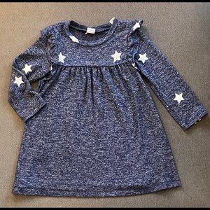 2T Gap Nancy Sweater Dress with Stars